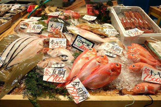 Tour guidato del mercato ittico di Tsukiji di Tokyo