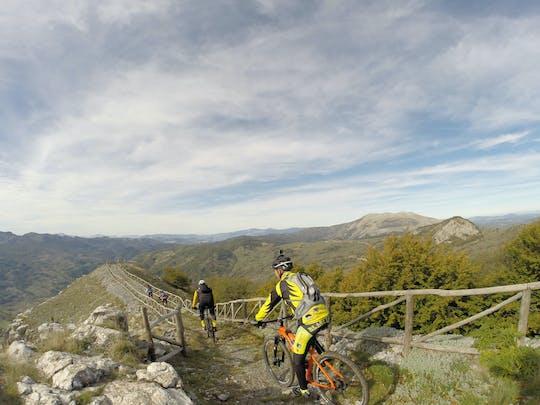 Visite en vélo électrique de deux parcs nationaux de la Basilicate