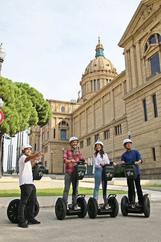 Barcelona Montjuïc Segway™ tour
