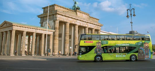 Berlin hop-on hop-off bus for 24 or 48-hours with river cruise