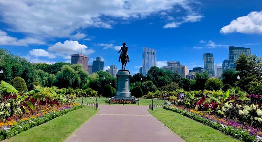 Highlights of Boston photography & history walking tour