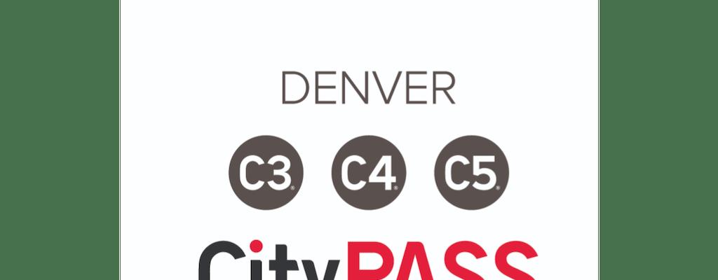 Denver CityPASS C3, C4, C5 Tickets