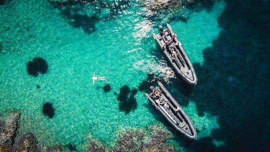 Viagem de barco e mergulho com snorkel para as ilhas Lérins e estátuas de Cannes