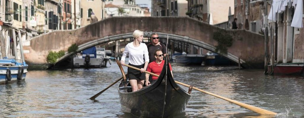 Rowing experience in Venice Canals