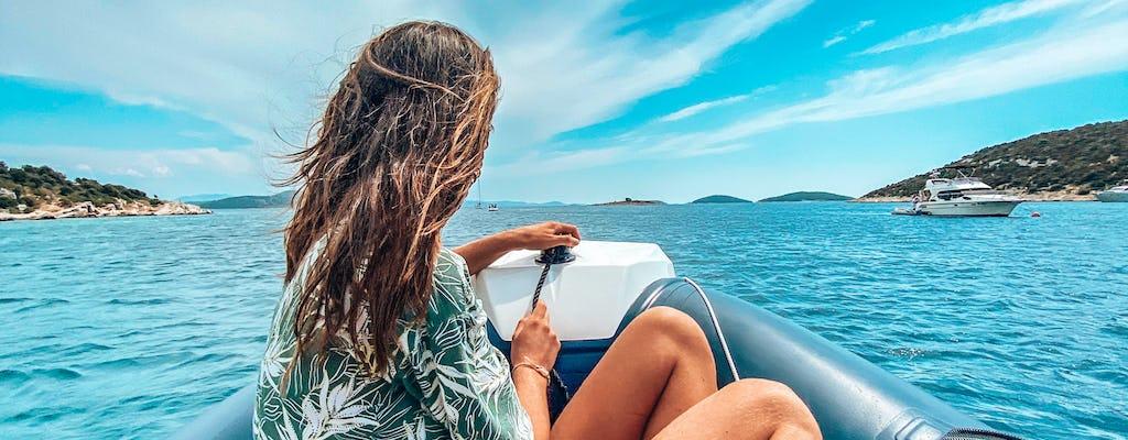Частный круиз на лодке по ривьере Шибеника