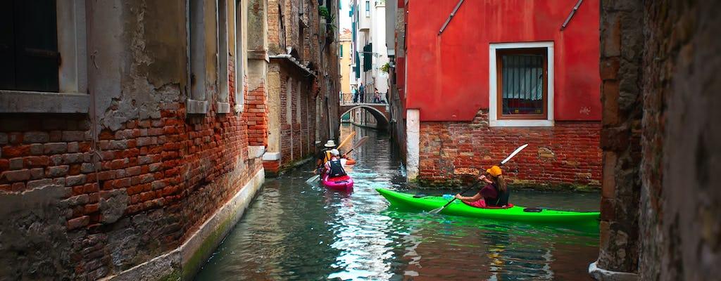 Опыт каяк в Венеции