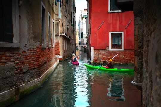 Kayak experience in Venice