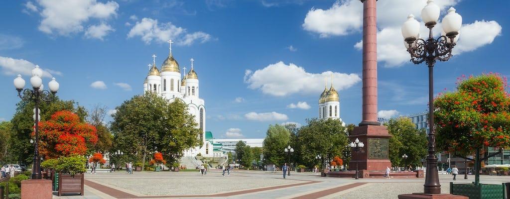 Tour de meio dia da História de Königsberg-Kaliningrado