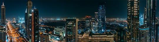 Dubai particular à noite com cruzeiro e passeio pelas fontes
