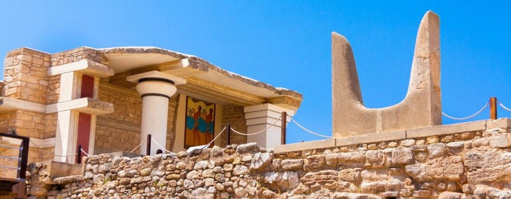 Private tour of Knossos Palace and Cretan villages from Heraklion