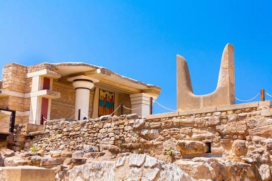 Private Tour durch den Knossos-Palast und die kretischen Dörfer von Heraklion