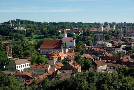 Private walking and driving tour of Vilnius