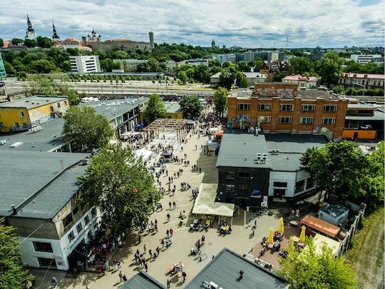 Tallinn straatkunsttour in Telliskivi