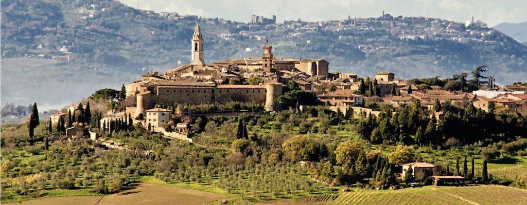 Passeio por Montepulciano e Pienza com degustação de vinhos e queijos