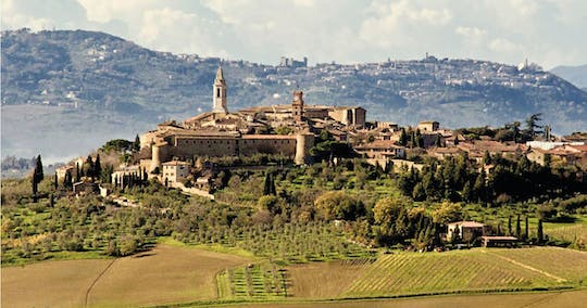 Montepulciano and Pienza tour with wine and cheese tastings