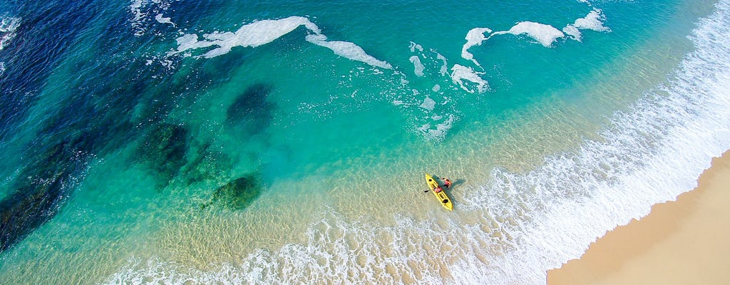 Санта-Мария и искусств заливы на байдарках и сноркелинг