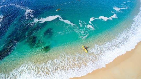 Tour en kayak y esnórquel por las bahías de Santa María y Chileno