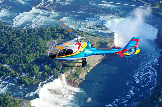 Tour en helicóptero por las cataratas del Niágara