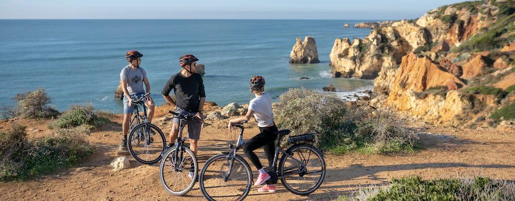 Passeio de e-bike pela cidade e praia de Albufeira