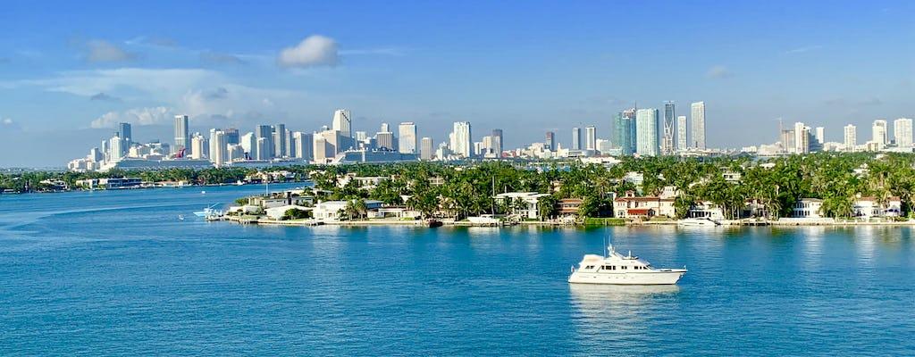Recorrido por la ciudad de Miami con crucero por el horizonte de la bahía