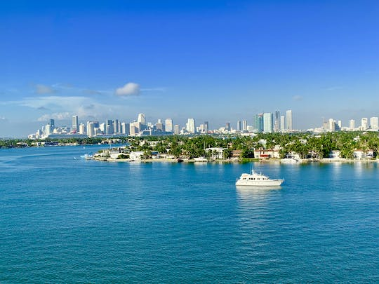 Miami city tour with bay skyline cruise