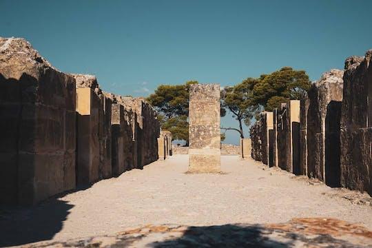 Tour privado de Matala e do sul de Creta saindo de Chania