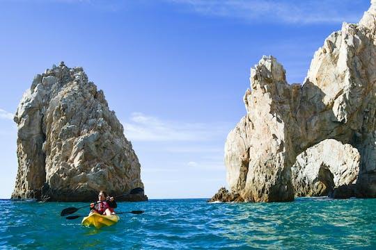 The Arch and Lover's beach 3 uur durende kajak- en snorkeltocht