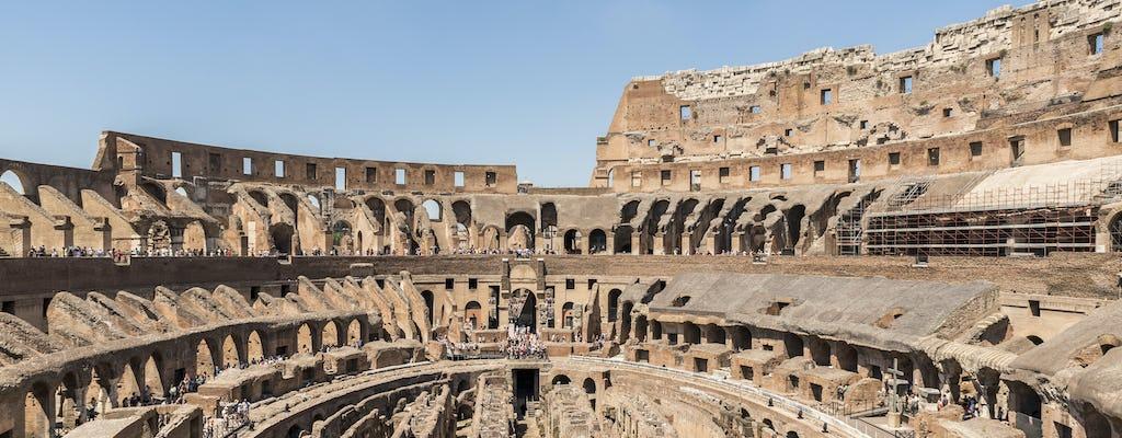 Visite privée du Colisée et accès à l'arène avec un guide local