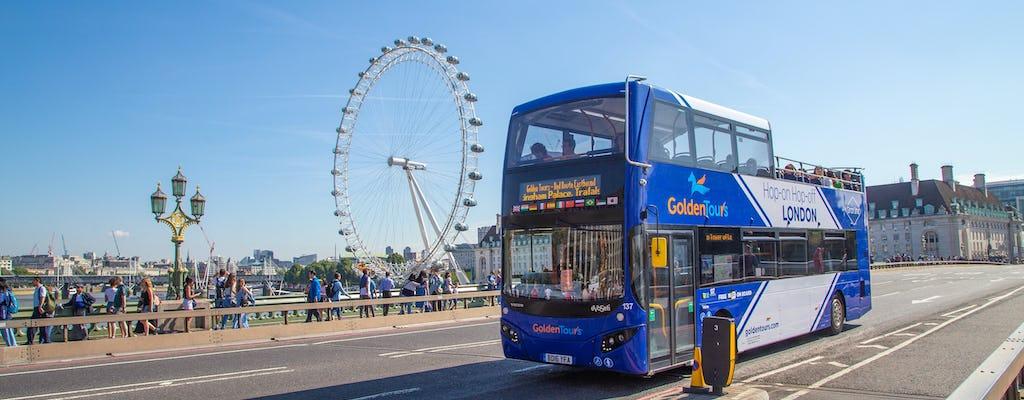 24-hour hop-on hop-off London bus tour