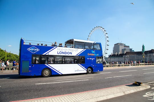 48-hour hop-on hop-off London bus tour