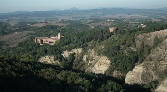 Visita guidata di Asciano e dell'Abbazia di Monte Oliveto Maggiore