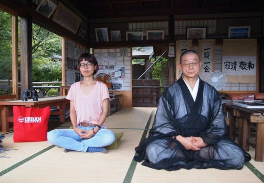 Western Kyoto guided tour with Zen lesson and tea ceremony