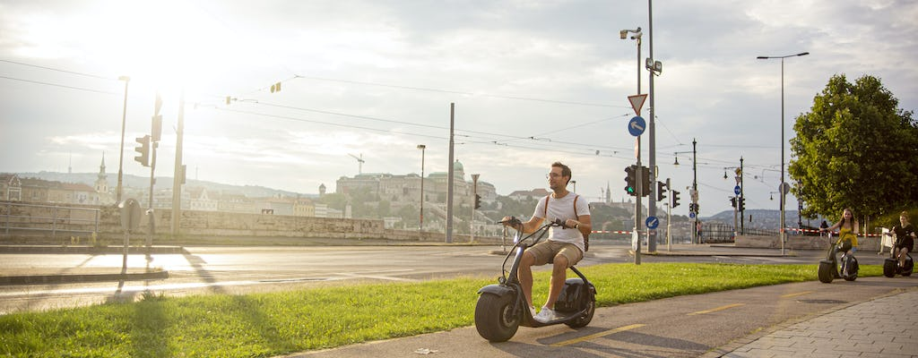 Guided E-scooter grand city tour in Budapest