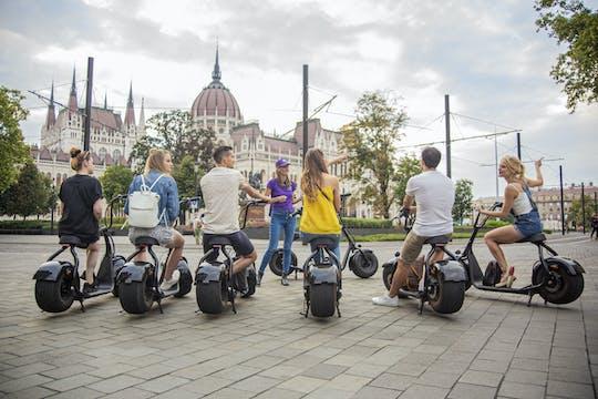 Tour guidato del parlamento in scooter elettrico a Budapest