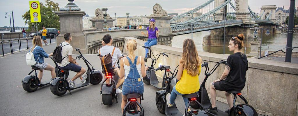 Tour guiado en scooter eléctrico en el Castillo de Buda en Budapest