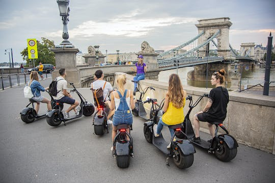 Guided E-scooter tour in Buda Castle in Budapest