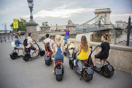 Begeleide e-scootertour in de Burcht van Boeda in Boedapest