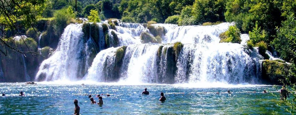 Traslado privado a las cascadas de Krka desde Dubrovnik