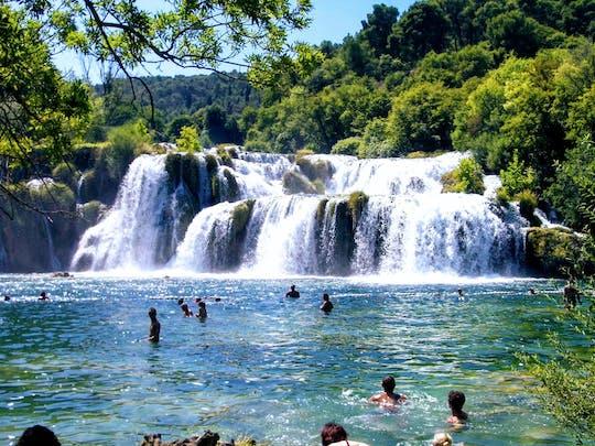 Trasferimento privato alle cascate di Krka da Dubrovnik
