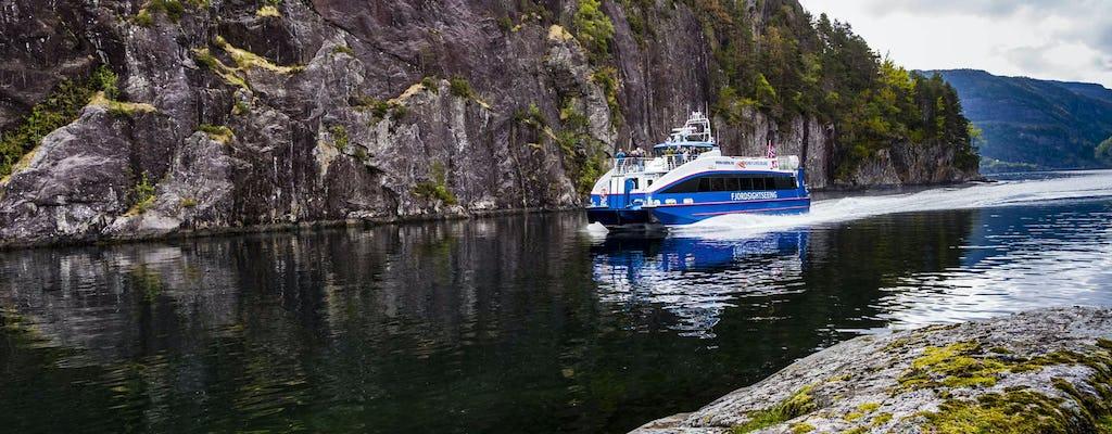 Mostraumen и Osterfjord полдня круиз