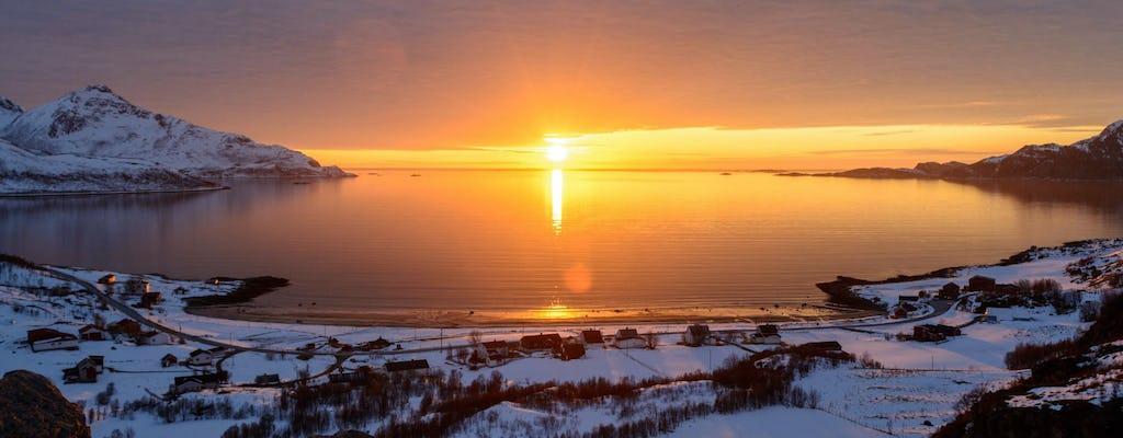 Tour invernale del fiordo di Kvaløya