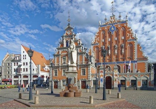 Visite guidée de la vieille ville de Riga et du marché central