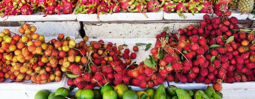 Visita guiada noturna de comida de rua em Siem Reap