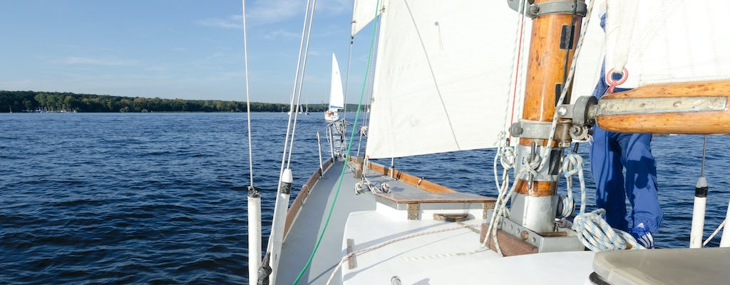 Summer yacht sailing trip with a skipper Wannsee Berlin