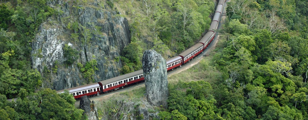 Zelf rijden naar Kuranda - Skyrail en Scenic Rail