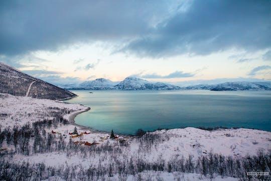 Tour privato del fiordo a Tromsø in un veicolo 4x4 premium
