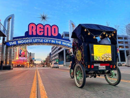Visite murale en cyclo-pousse du centre-ville de Reno