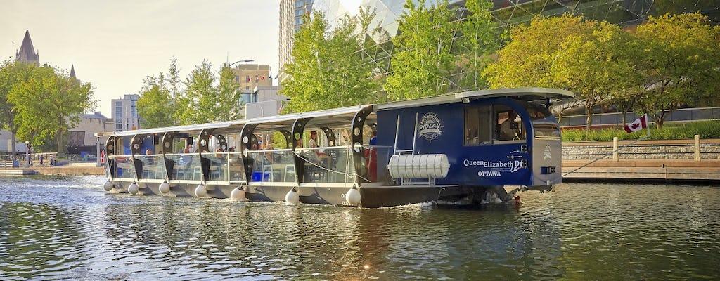 Ottawa Rideau Canal cruise