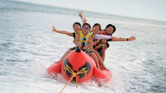 Parasailing e banana boat ou Aqua Park ilimitado no Paradise 101
