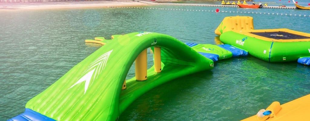 Croisière au coucher du soleil et bateau banane ou parc aquatique illimité au Paradise 101